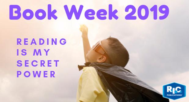 Dress ups for Book Week 2019 - Reading is my secret power