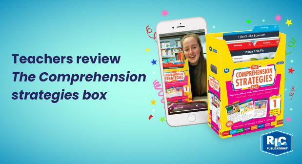 Teachers review 'The Comprehension strategies box'
