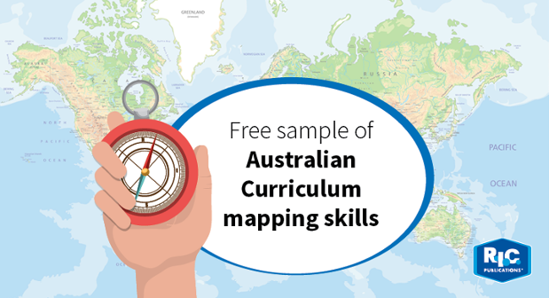 Australian Curriculum - Mapping skills Giveaway